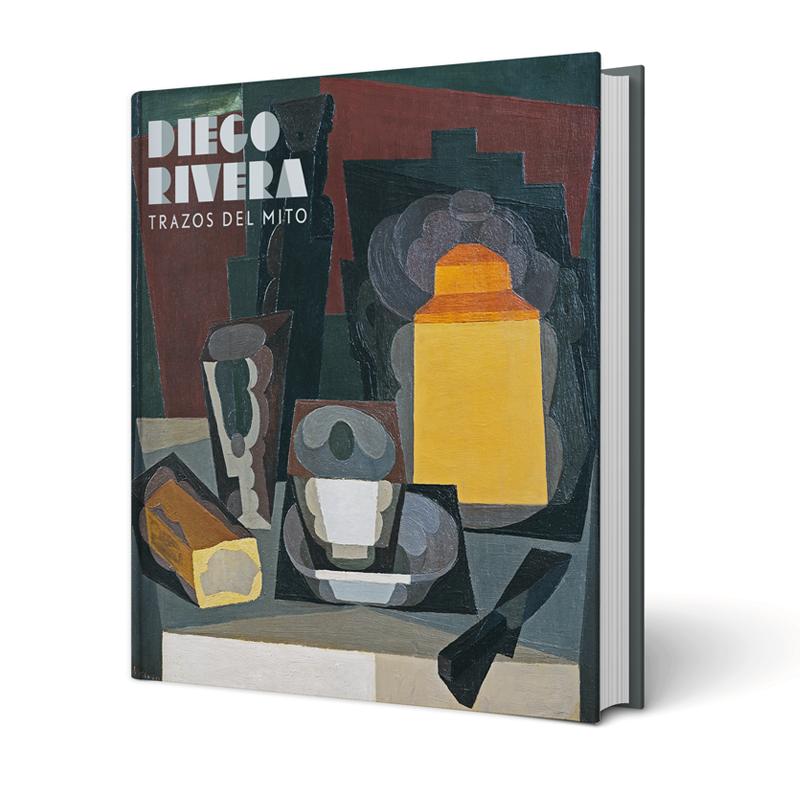 Diego Rivera. Trazos del mito. Diseño Estudio la fe ciega.