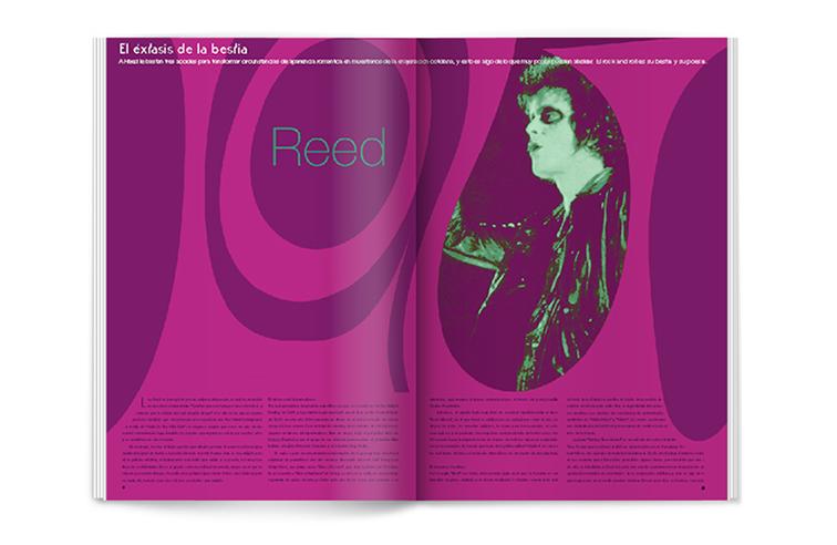 Páginas de la revista la mosca en la pared
